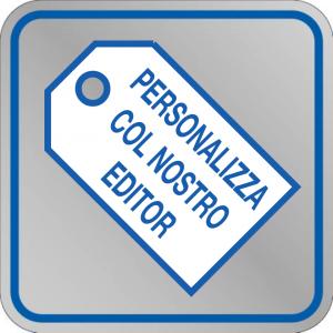 Etichetta adesiva PERSONALIZZABILE 80x80 mm