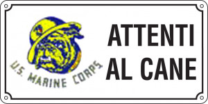Attenti al cane - U.S. Marine Corps