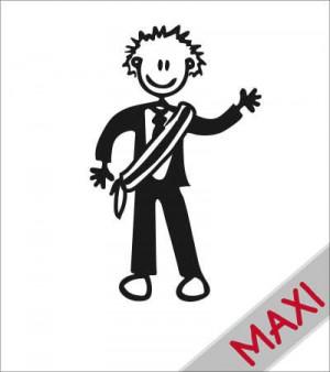 Papà sindaco - Maxi Adesivi Famiglia per Camper