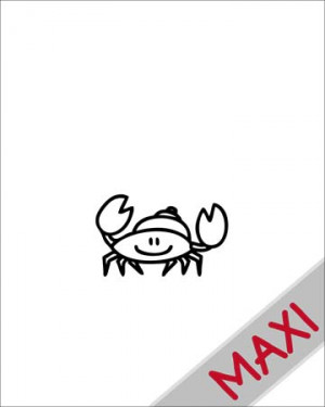 Granchio - Maxi Adesivi Famiglia per Camper