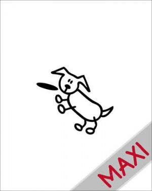 Cane 2 - Maxi Adesivi Famiglia per Camper