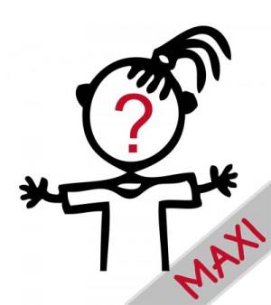 Bambina: te la disegniamo noi - Maxi Adesivi Famiglia per Camper