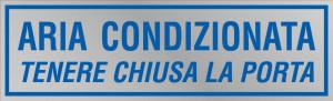"""Etichetta adesiva """"Aria Condizionata"""""""