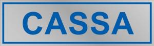 """Etichetta adesiva """"Cassa"""""""