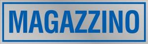 """Etichetta adesiva """"Magazzino"""""""