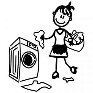 Mamma casalinga - Adesivi Famiglia