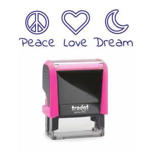 "Timbro ""Pace, Love, Dream"""