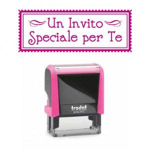"""Timbro """"Un Invito Speciale per Te"""""""