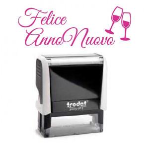 """Timbro """"Felice Anno Nuovo"""""""