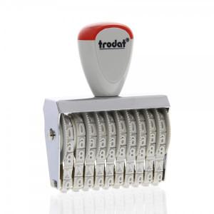 Numeratore 10 colonne, 5 mm - Trodat Classic 15510