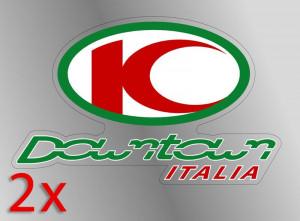 "Adesivi ""Kymco Downtown Italia"""