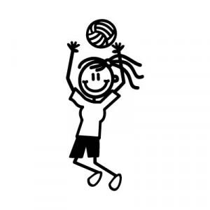 Bambina pallavolo 2