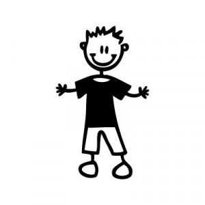 Bambino con maglietta