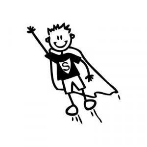 Bambino supereroe