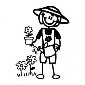 Mamma giardiniera