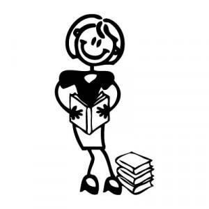 Mamma con libri