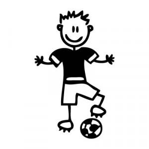 Papà calciatore