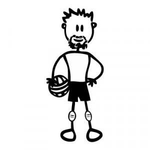 Papà pallavolista