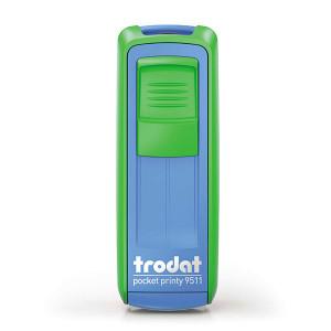Timbro tascabile Trodat Pocket Printy 9511 - 38x14 mm