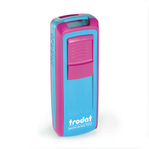 Timbro tascabile Trodat Pocket Printy 9512 - 47x18 mm