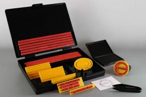 Kit per timbri componibili fai da te Shiny S-100