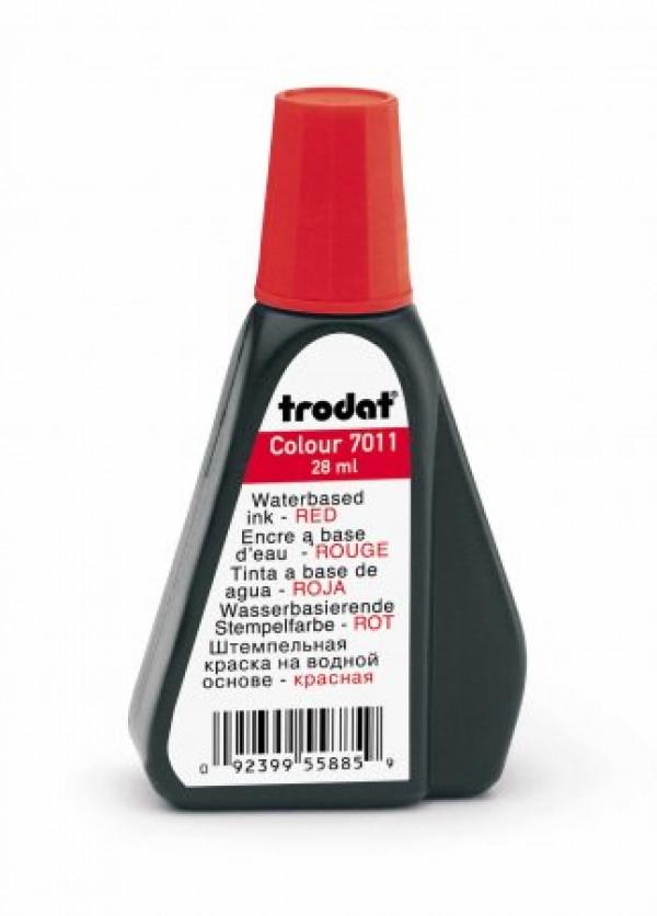 Inchiostro per timbri in gomma - Trodat 7011 rosso