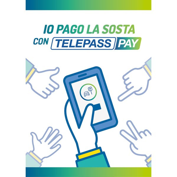 """Contrassegno """"Telepass Pay"""""""