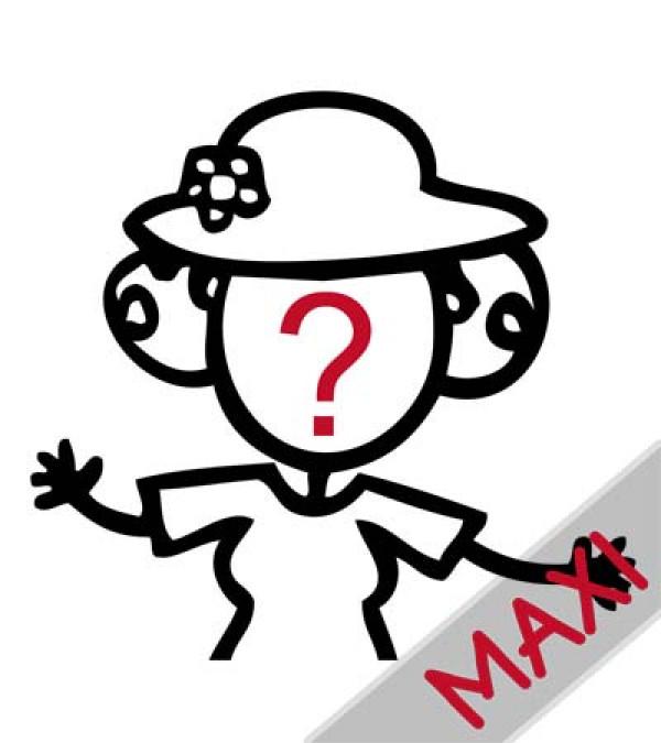Nonna: te la disegniamo noi - Maxi Adesivi Famiglia per Camper