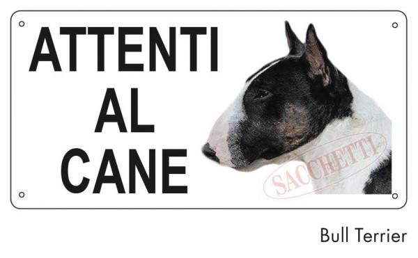 Attenti al cane Bull Terrier