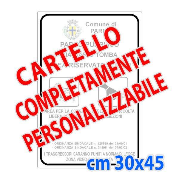 CARTELLO ORARI DI LAVORO CM 30X20 IN POLIPROPILENE