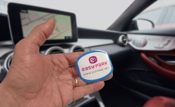 "Sticker ""EasyPark"" (per interno vetro)"