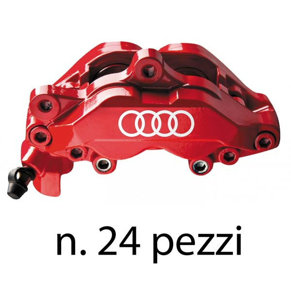 """Set di adesivi """"Audi"""" per pinze freni"""
