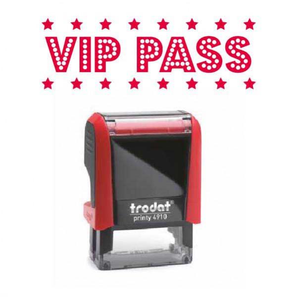 """Timbro """"VIP Pass"""""""