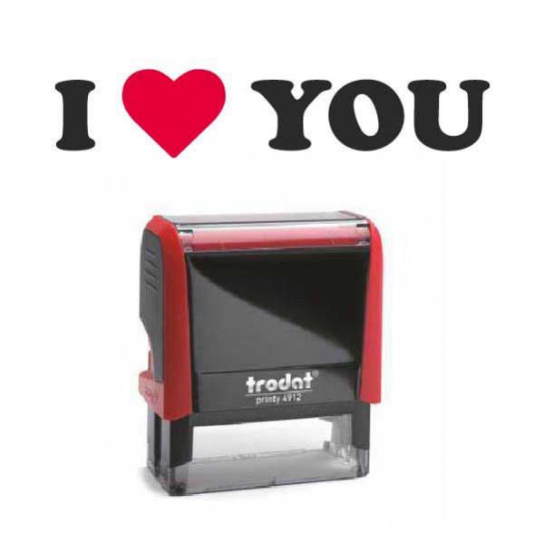 "Timbro ""I Love You"""