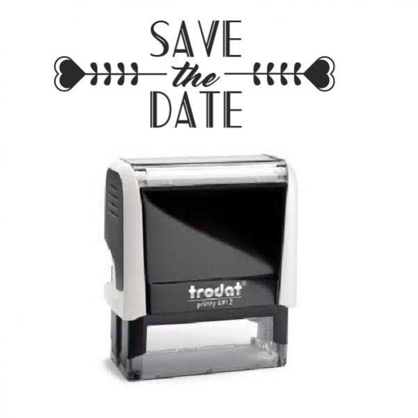 """Timbro """"Save the Date"""""""