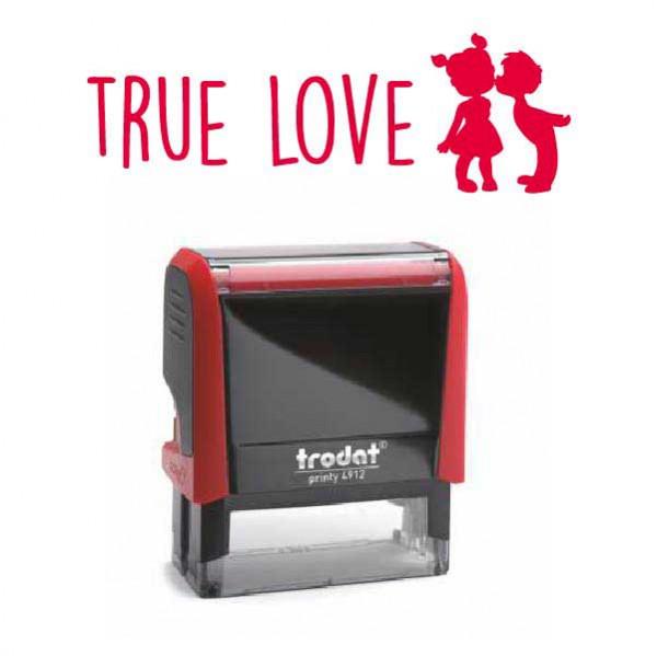 """Timbro """"True Love"""""""