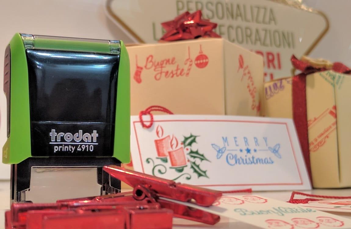 Timbri per decorazioni natalizie e biglietti di auguri